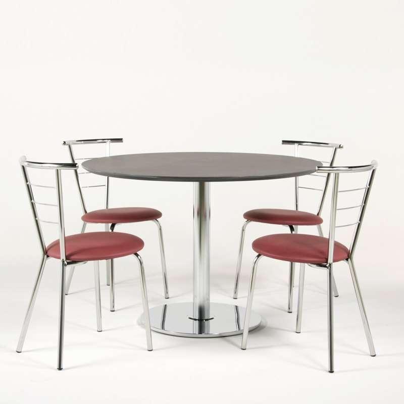chaise de cuisine contemporaine assise rembourr e avec pieds et dossier en m tal val rie 4. Black Bedroom Furniture Sets. Home Design Ideas