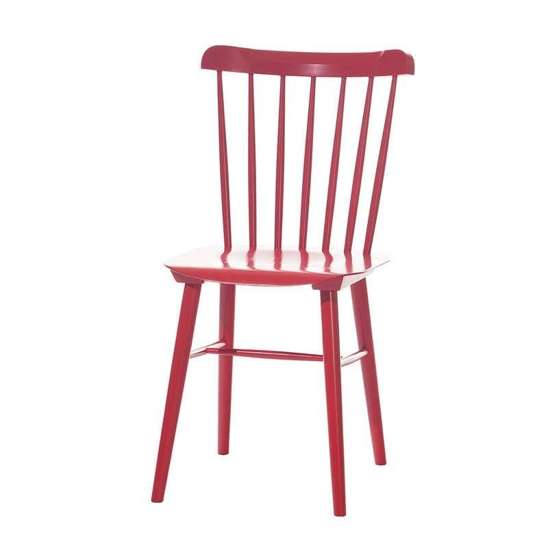 chaise brasserie en bois 4 pieds tables chaises et. Black Bedroom Furniture Sets. Home Design Ideas