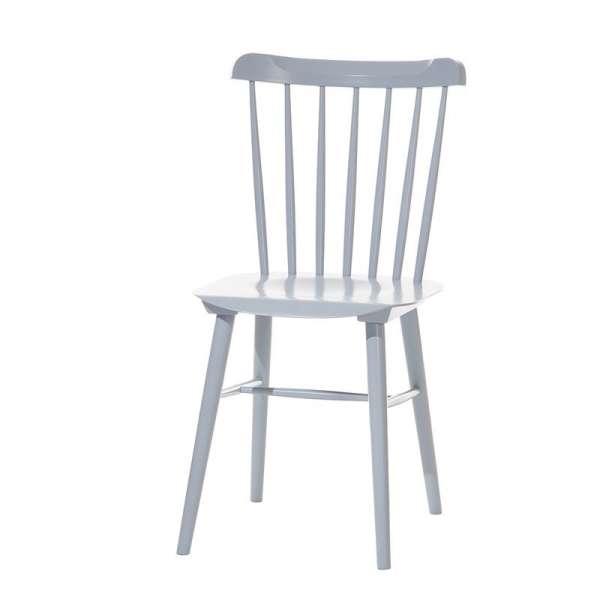 Chaise brasserie en bois - 5