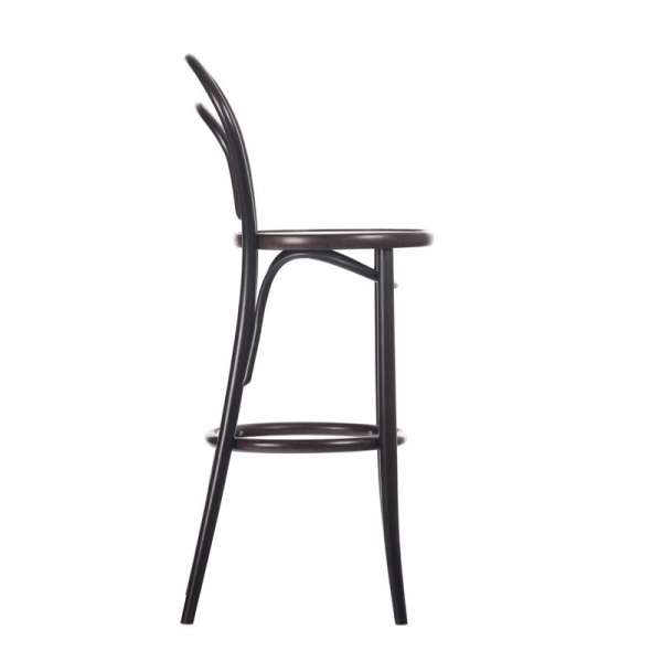 Tabouret tabouret de bar bistrot noir avec assise - Tabouret de bar bistrot bois ...