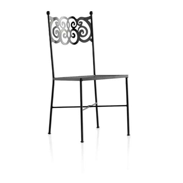 Chaise style provençal en métal - Granada