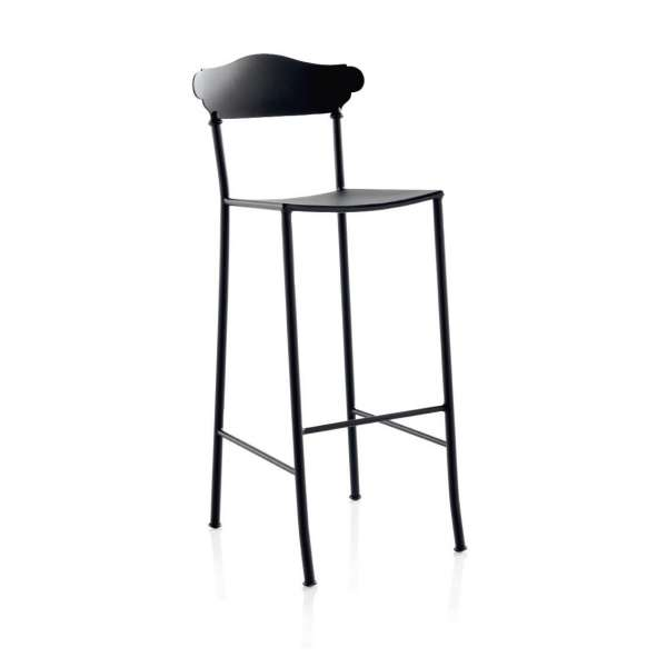 tabouret en fer forg apolo 4 pieds tables chaises et. Black Bedroom Furniture Sets. Home Design Ideas