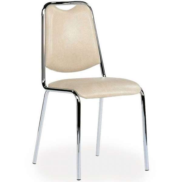 Chaise de cuisine en m tal sunny 4 pieds tables - Table de cuisine avec chaise ...
