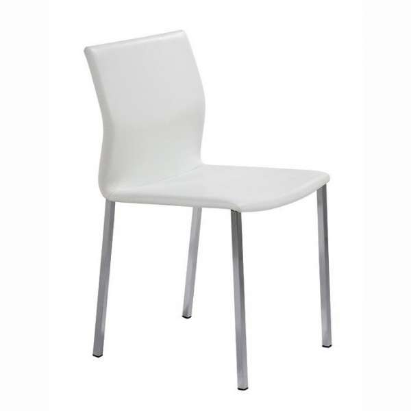 chaise en m tal et synth tique sierra 4. Black Bedroom Furniture Sets. Home Design Ideas