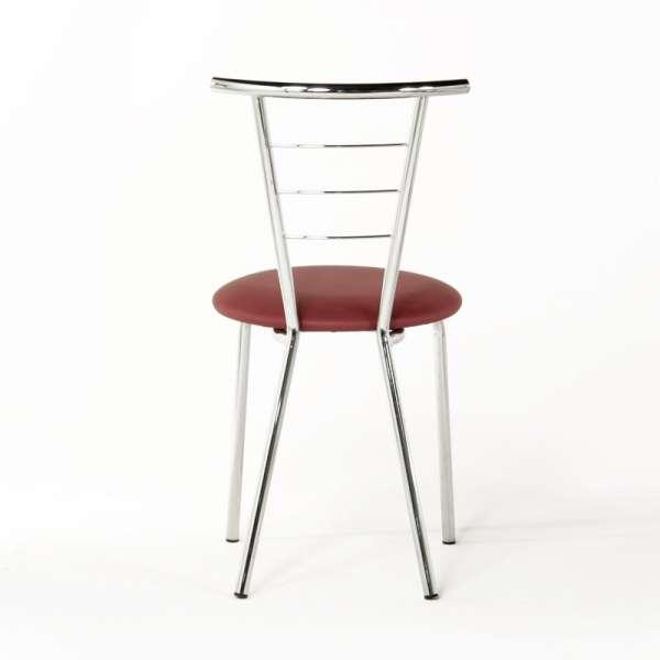Chaise en métal et vinyl - Valérie 4 - 5