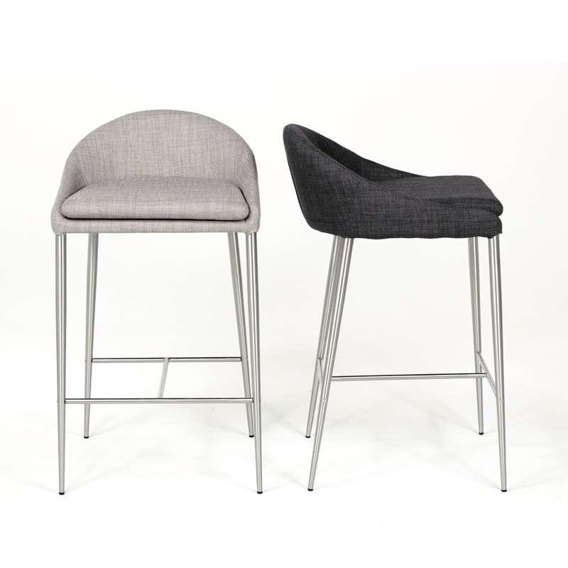 tabouret snack contemporain hauteur 65 cm davon 4 pieds tables chaises et tabourets. Black Bedroom Furniture Sets. Home Design Ideas