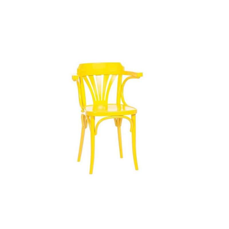 fauteuil en bois style bistrot 24 4. Black Bedroom Furniture Sets. Home Design Ideas