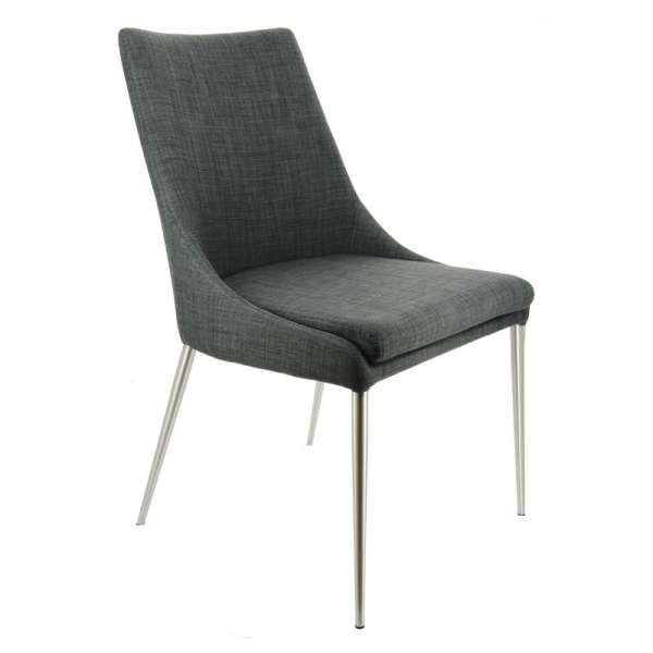 Chaise contemporaine en tissu - Debby 2 - 2
