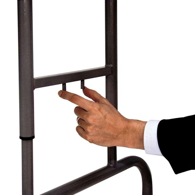 Table pliante hauteur variable worktop 4 pieds - Pied de table reglable en hauteur ...