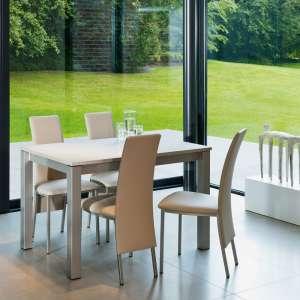Table de cuisine rectangulaire en stratifié avec allonge - Valencia 15