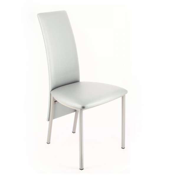Chaise contemporaine de salle à manger en synthétique - Elyn