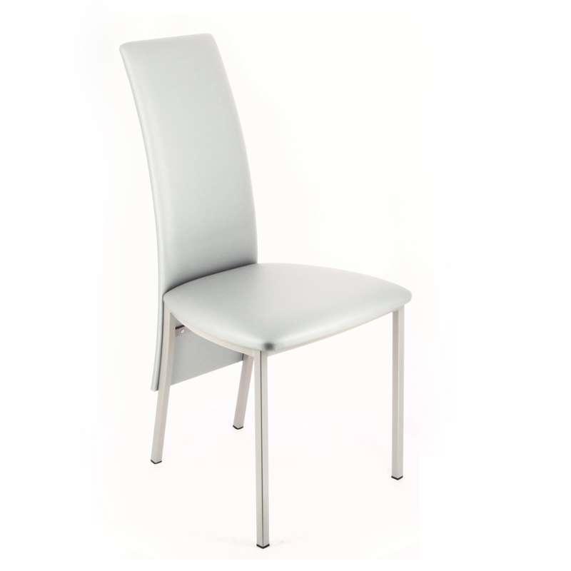 chaise contemporaine de salle manger en synth tique elyn 4 pieds tables chaises et. Black Bedroom Furniture Sets. Home Design Ideas