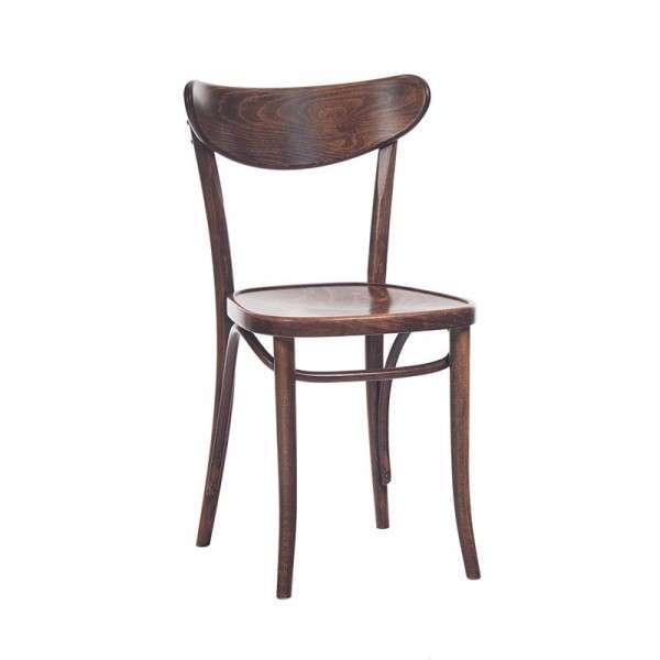 Chaise brasserie en bois 4 pieds tables chaises et for Chaise en bois prix