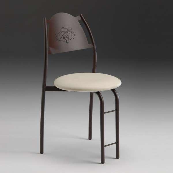 Chaise de cuisine en métal - Gaëlle