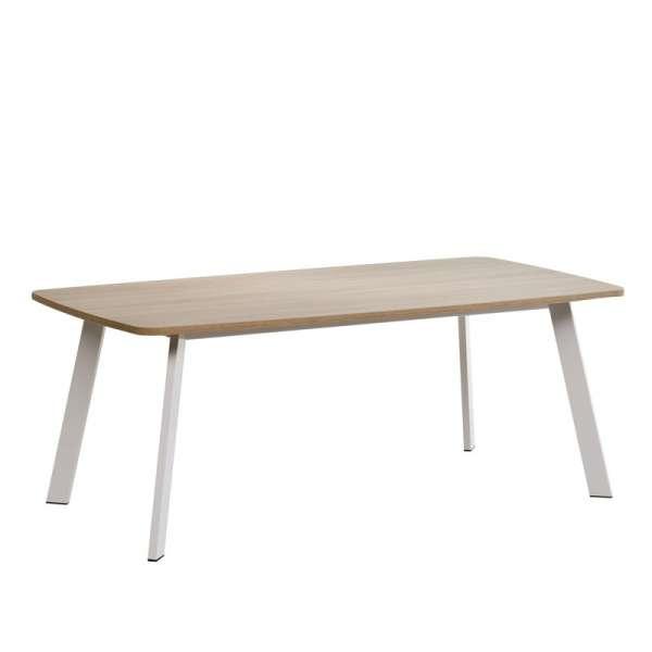 Table de cuisine rectangle en stratifié - Elias 2 - 4