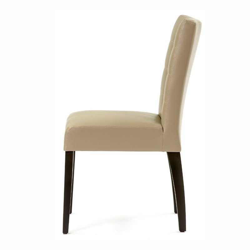 chaise contemporaine matelass e matias 2 4 pieds tables chaises et tabourets. Black Bedroom Furniture Sets. Home Design Ideas