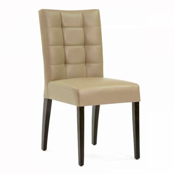 chaise contemporaine matelass e matias 2 4. Black Bedroom Furniture Sets. Home Design Ideas