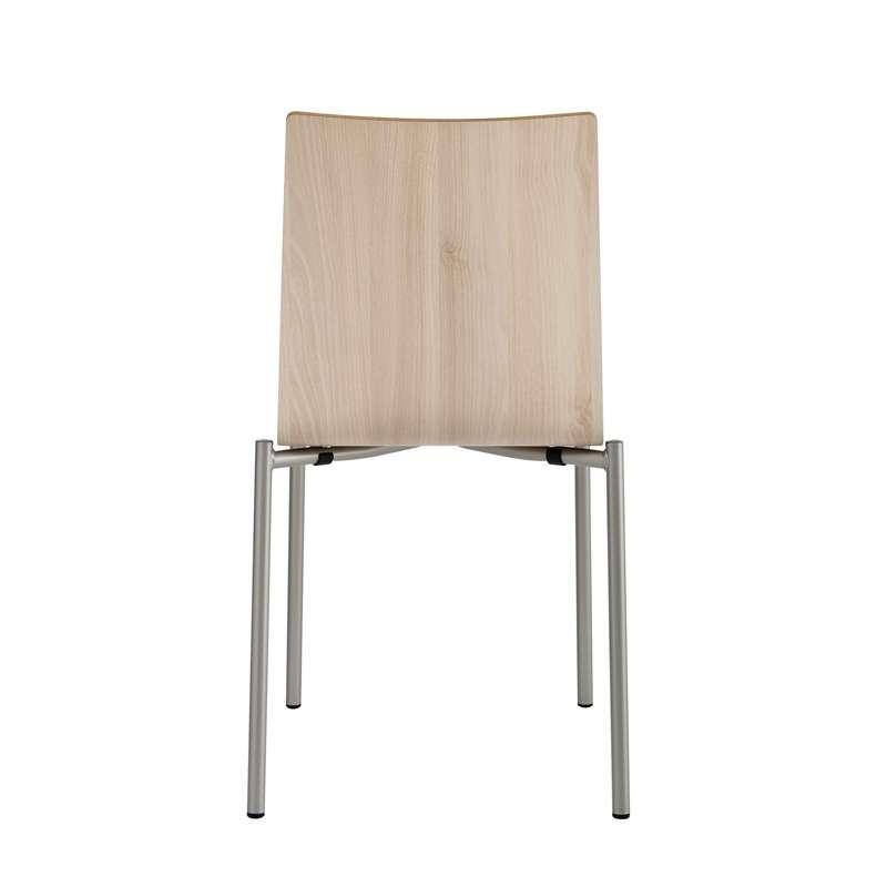 Chaise Moderne En M Tal Et Stratifi Pro 39 S 4 Pieds