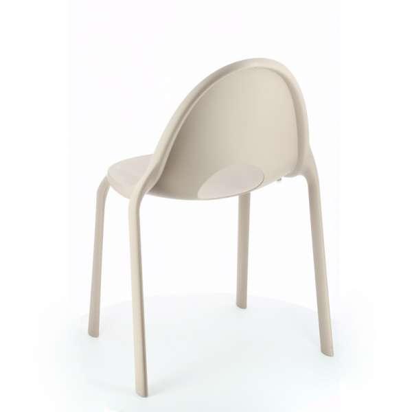 Chaise grise en plastique - Drop Infiniti® - 14