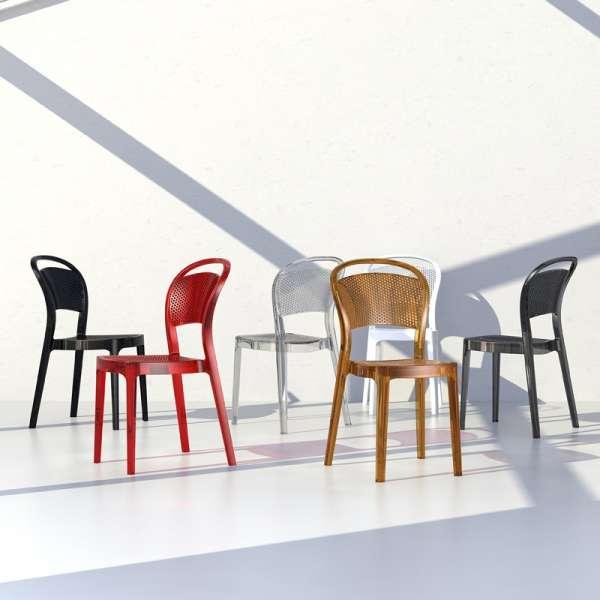 Chaise design en plexi Bee 17 - 17