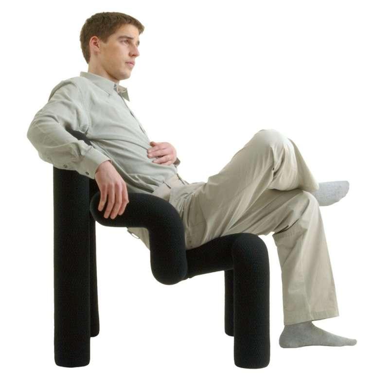 fauteuil ergonomique en tissu ekstrem varier 4 pieds tables chaises et tabourets. Black Bedroom Furniture Sets. Home Design Ideas
