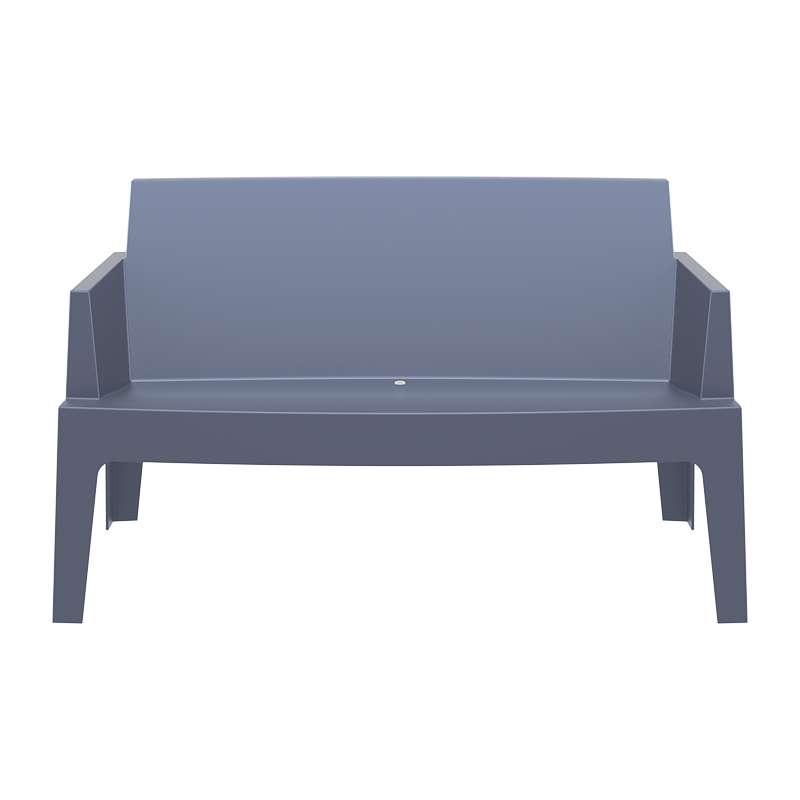 salon de jardin en polypropyl ne box jardin 2 4 pieds. Black Bedroom Furniture Sets. Home Design Ideas