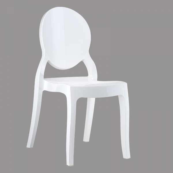 Chaise design Elizabeth Opaque en polycarbonate - 4