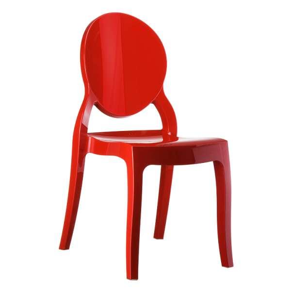 Chaise design Elizabeth Opaque en polycarbonate - 1