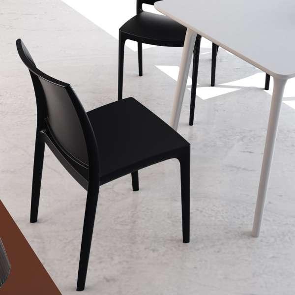 Chaise en plastique polypropylène - Maya - 4