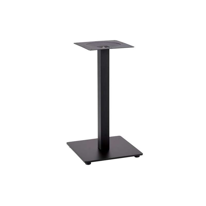 Pied de table central t tra inox grosfillex 4 pieds - Pied de table central inox ...