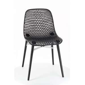 Chaise design Next Infiniti® - Piétement hêtre massif laqué & assise polycarbonate