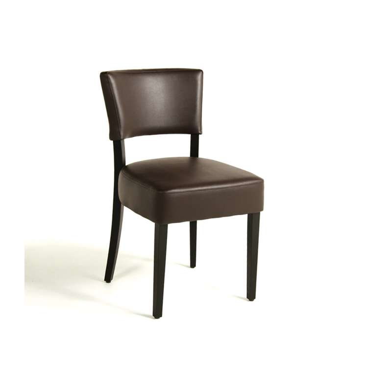 chaise de salle manger en bois et synth tique steffi 4. Black Bedroom Furniture Sets. Home Design Ideas