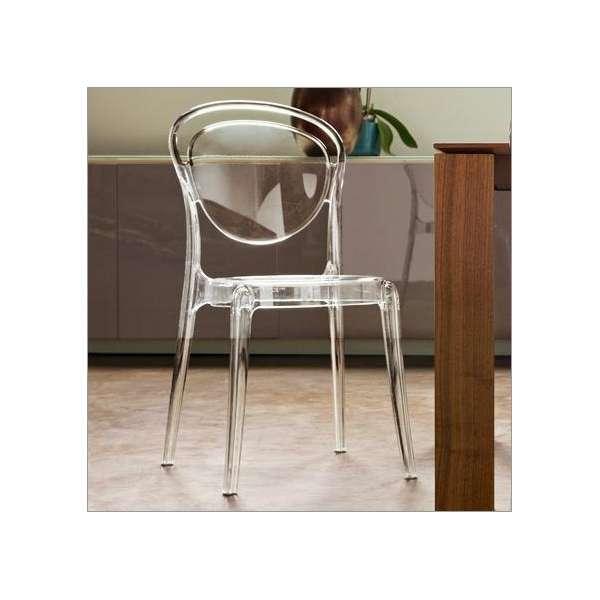 Chaise design en plexi Parisienne Calligaris® - 3