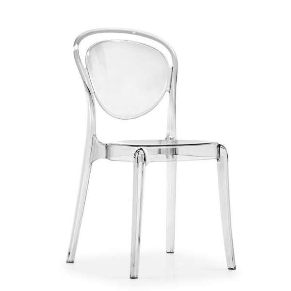 Chaise design en plexi transparent - Parisienne Connubia®