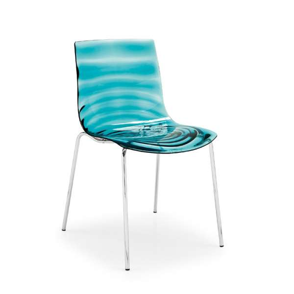 Chaise design en plexi Eau Connubia®