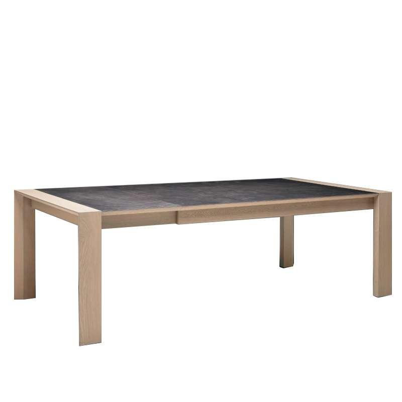 table de salle manger en c ramique rectangle carr e conception a 4 pieds tables. Black Bedroom Furniture Sets. Home Design Ideas
