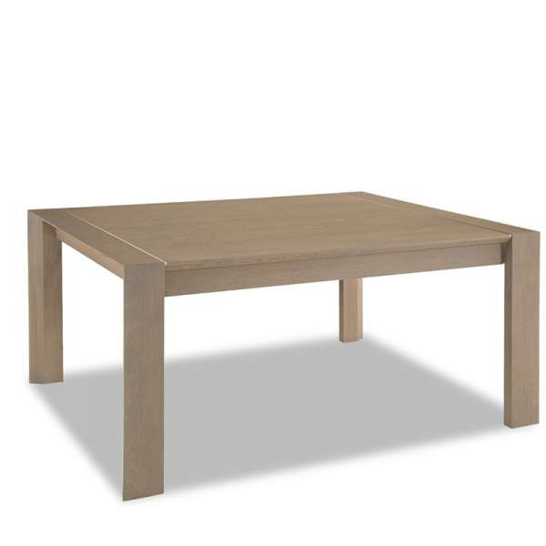 Table de salle manger en ch ne rectangle carr e for Table de salle a manger en solde