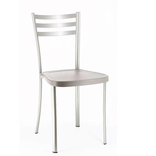 Chaise de cuisine en métal avec assise en polypropylène - Ace 1320 2 - 3