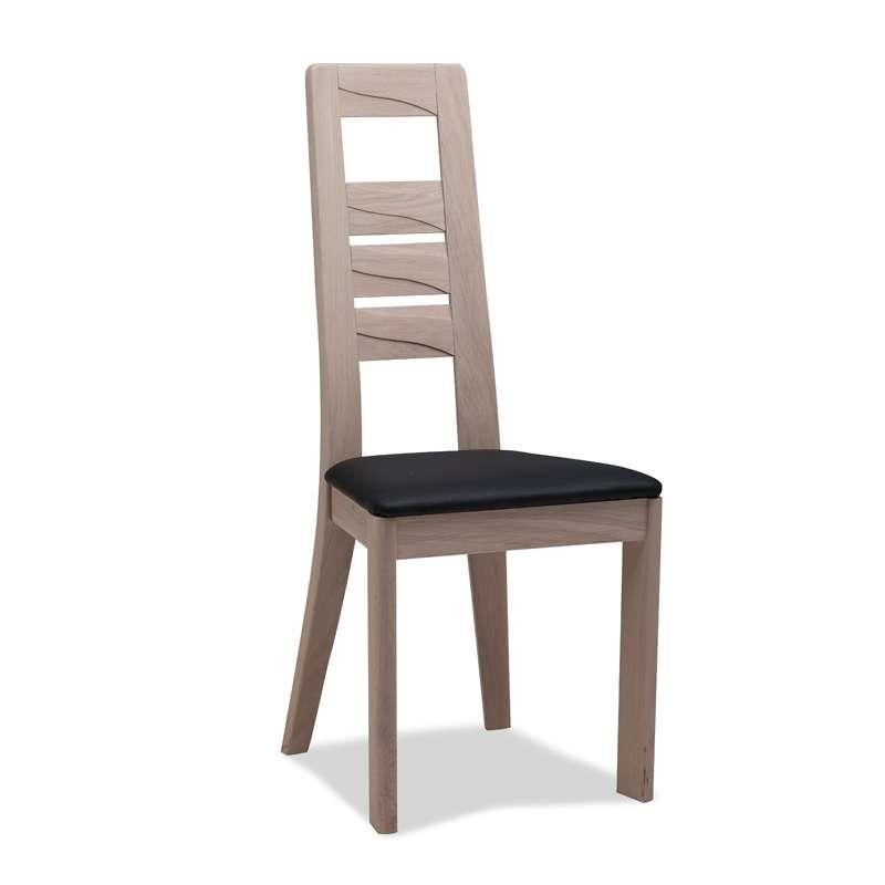 chaise contemporaine en ch ne 4. Black Bedroom Furniture Sets. Home Design Ideas