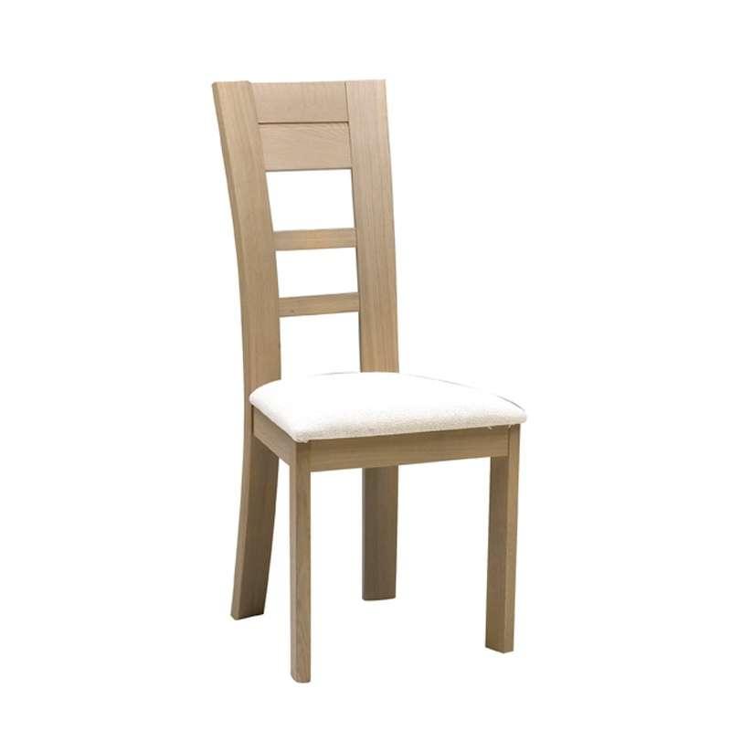 chaise contemporaine en ch ne massif 4. Black Bedroom Furniture Sets. Home Design Ideas