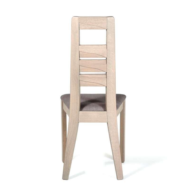 Chaise contemporaine en ch ne 4 pieds tables chaises for 4 pieds 4 chaises givors