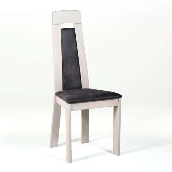 Chaise contemporaine en chêne  - 2