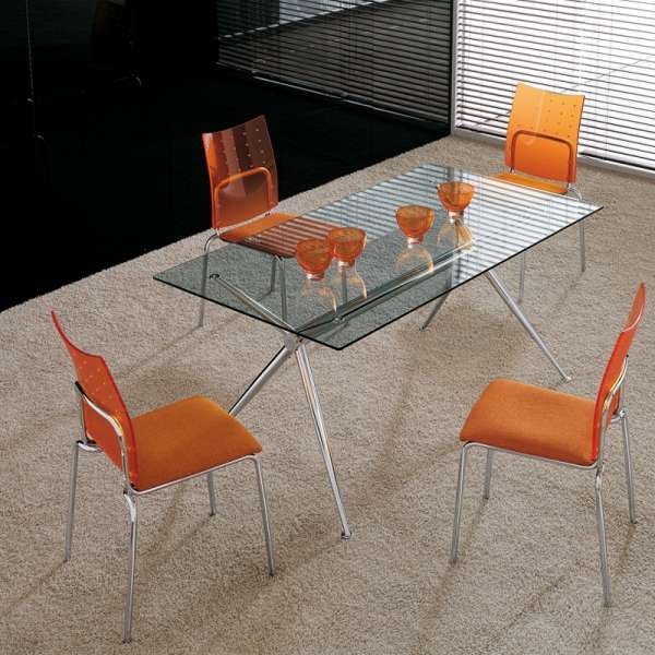 Table en verre design Brioso Midj® - 3