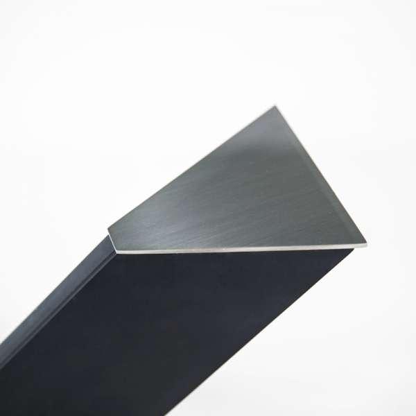 Table design en verre rectangulaire Trendy 100 cm x 180 cm - 6
