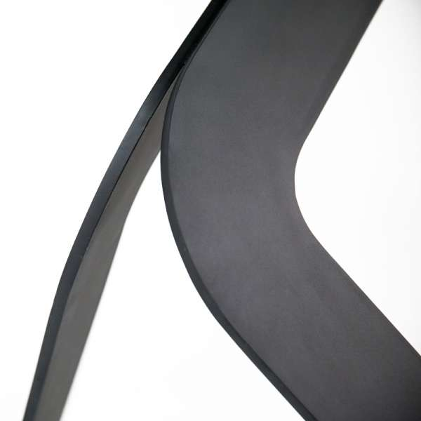 Table design en verre rectangulaire Trendy 100 cm x 180 cm - 8