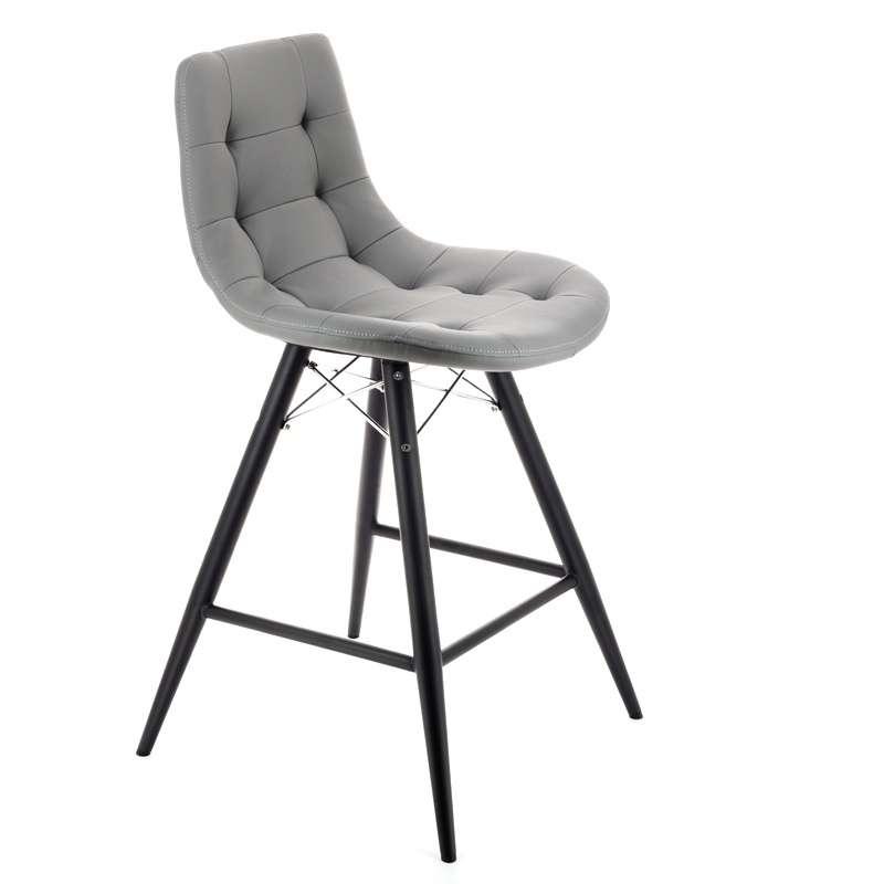 tabouret snack design rembourr thais 4 pieds tables chaises et tabourets. Black Bedroom Furniture Sets. Home Design Ideas