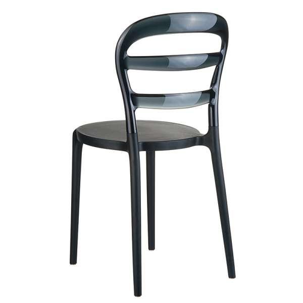 Chaise design en plexi et polypropylène - Miss Bibi 1 - 7