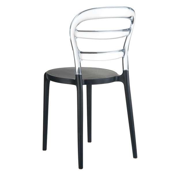 Chaise design en plexi et polypropylène - Miss Bibi 9 - 15