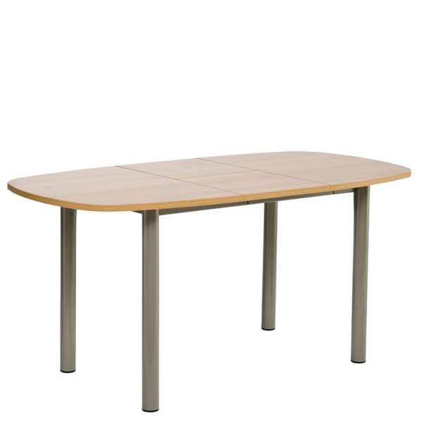 Table de cuisine en stratifié avec allonge - Lustra 2 - 2