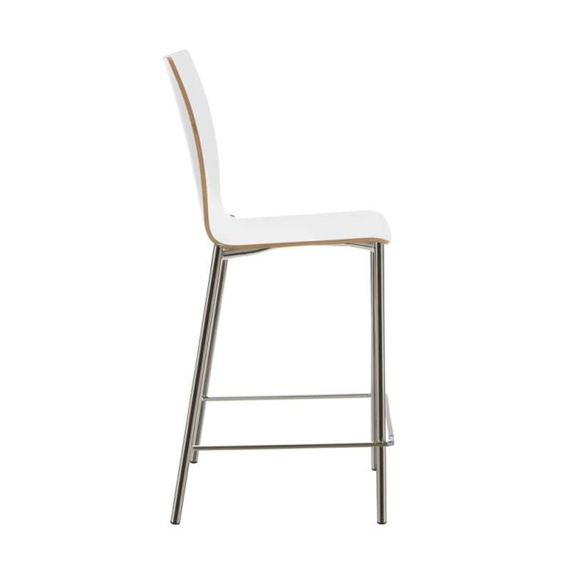 Tabouret snack en m tal et stratifi pro 39 s 4 pieds tables chaises - Tabouret snack 4 pieds ...